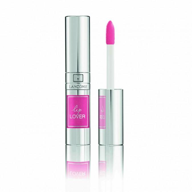 Perfecteur de lèvres, Lip Lover, Rose des nymphes, Lancôme. 22,50 €.