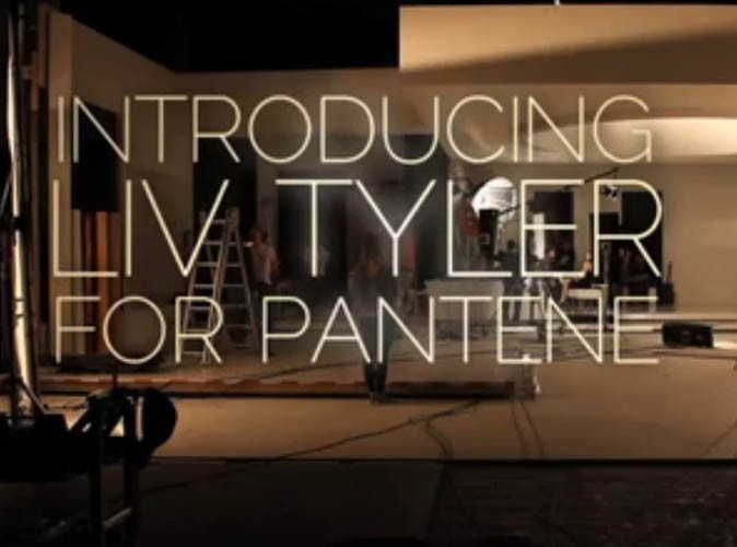 Le making of de la campagne Pantene