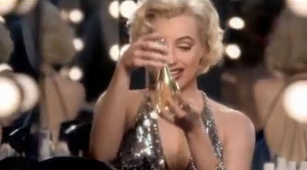 Eégrie Dior pour la campagne publicitaire du parfum J'adore !