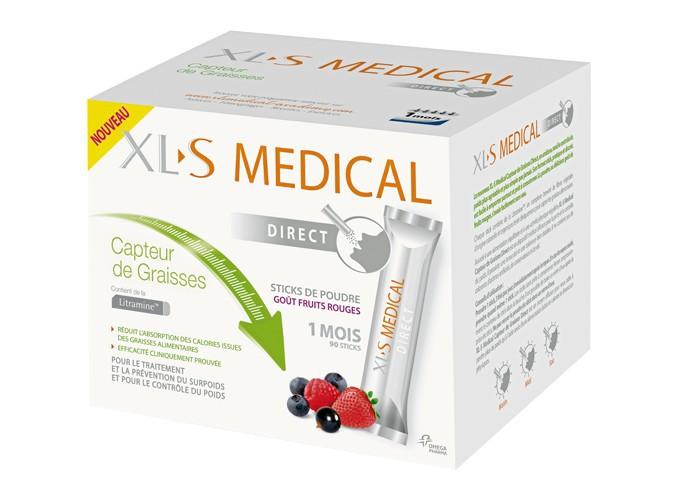 90 sticks Capteur de graisses, XL-S Medical 72 €
