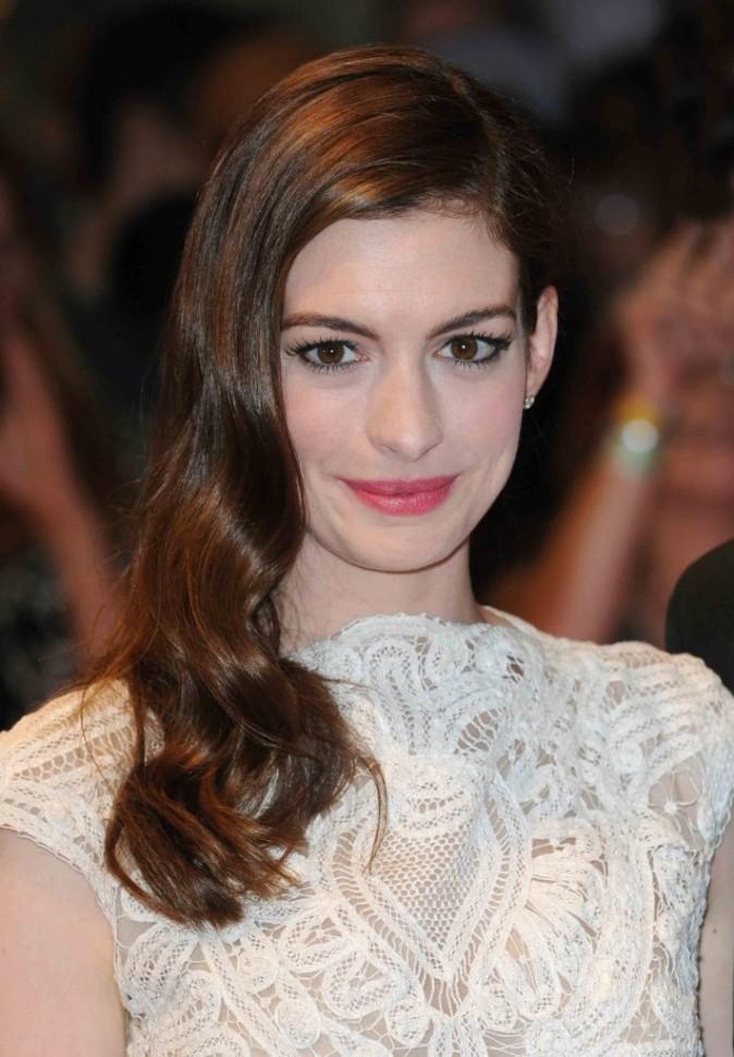 """Anne Hathaway à la Première du film """"Un jour"""" à Londres, septembre 2011"""