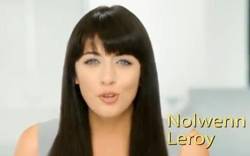 Nolwenn Leroy dans le spot publicitaire de Pantene