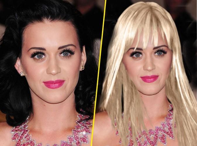 Beauté : le relooking en blonde de Katy Perry