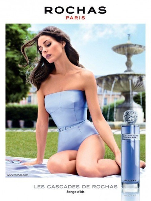 """Olivia Palermo, 100% Parisienne pour le parfum Rochas """"Songe d'Iris"""" !"""