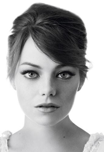 Emma Stone pour la crème gel liner colorstay de Revlon
