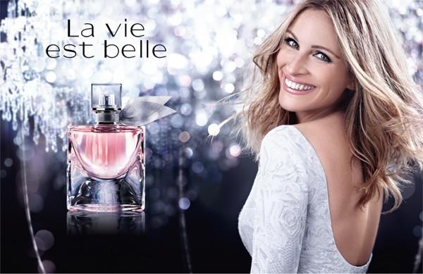 La vie est belle de Lancôme a été le 2ème parfum le plus vendu en France en 2013 !