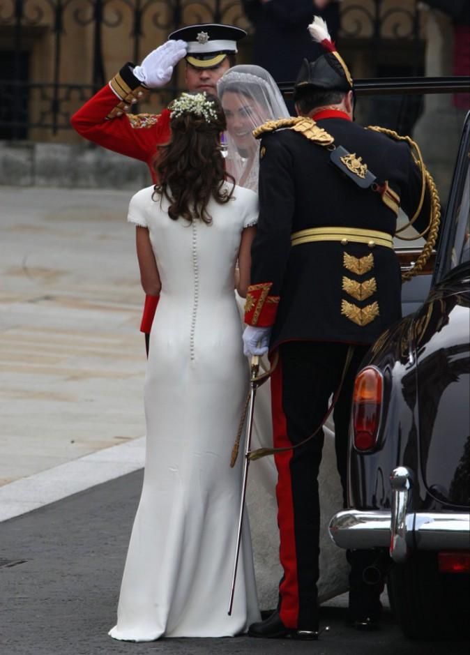 À la 3ème place des plus belles fesses au monde : Pippa Middleton !