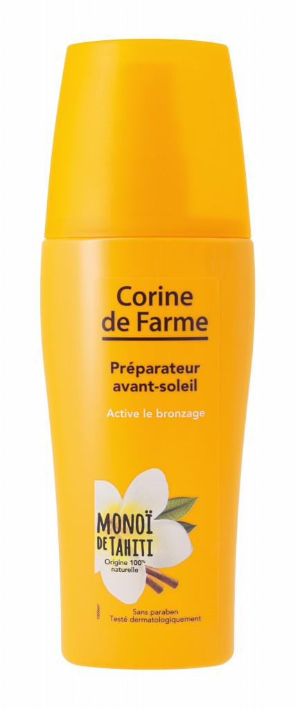 Préparateur avant-soleil, Corine de Farme 6,80 €