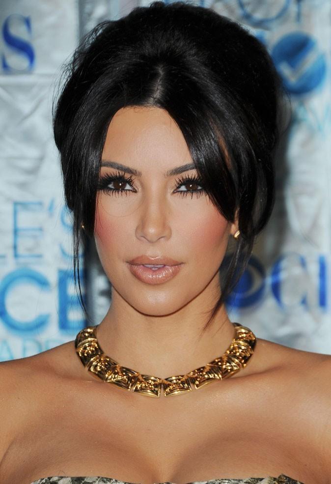 Beaut Quel Beauty Look Pour Kim Kardashian Le Jour De Son Mariage