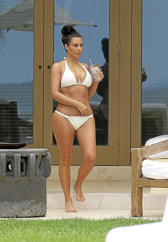 Kim Kardashian après .... Un mariage, un bébé, et hop ! Envolés les kilos !
