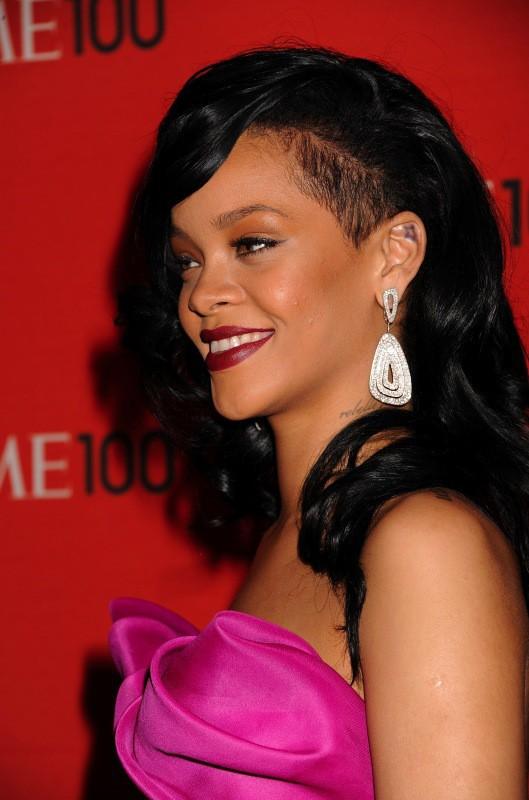 Rihanna en avril 2012