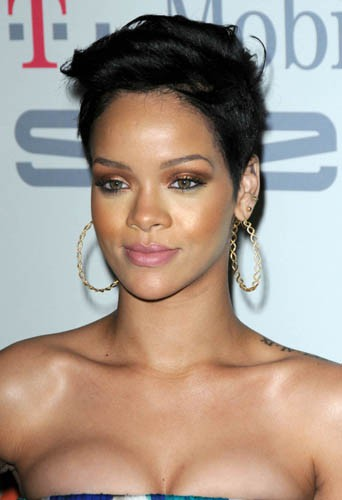 Rihanna en février 2009