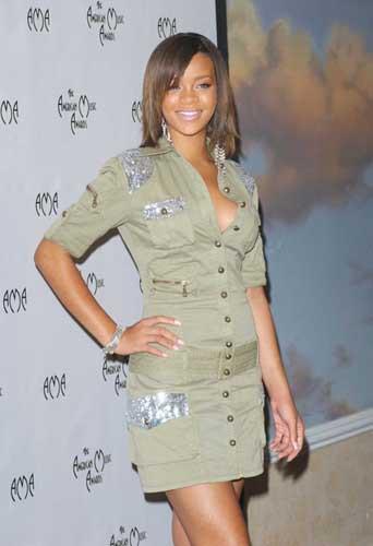 Rihanna en septembre 2005