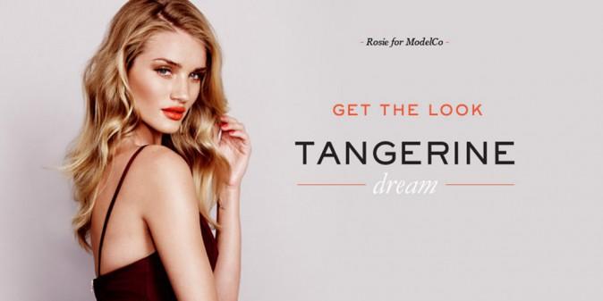 Beauté : Rosie Huntington-Whiteley : envoûtante et débordante de sex-appeal pour ModelCo !