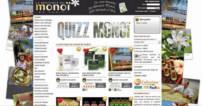 Le site de référence du monoï