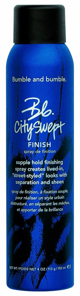le spray de finition Cityswept, Bumble & Bumble. 39 €