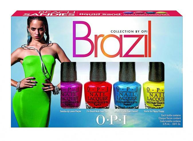 Mini-kit de vernis, Brazil, OPI chez Sephora 20€