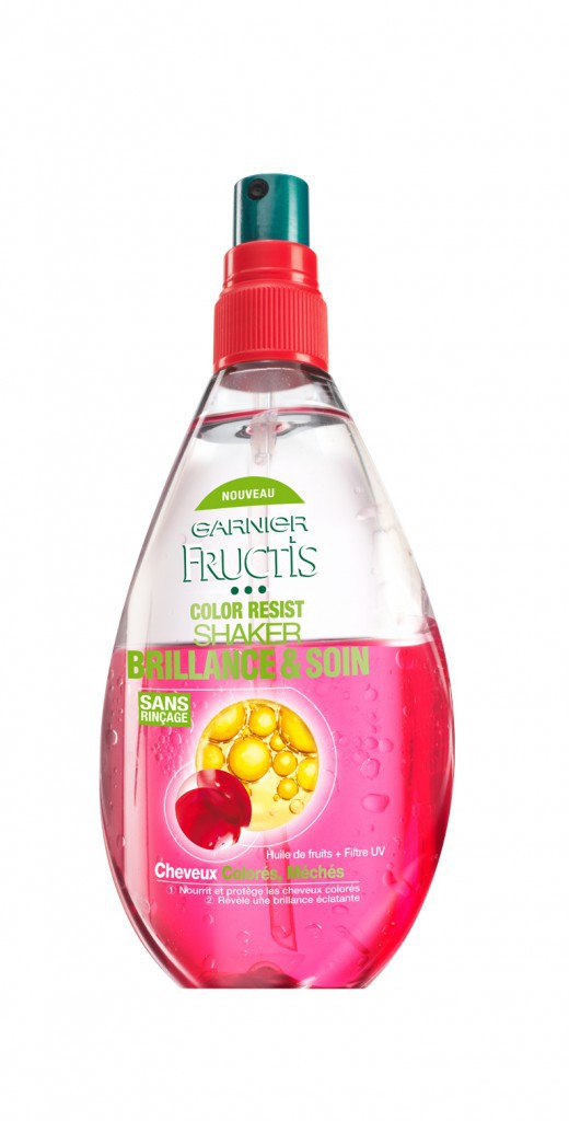 Brillant ! Color Resist Shaker Fructis, Garnier 6,90€