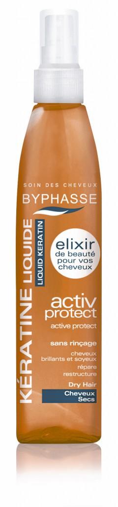 Élixir de beauté Spray de kératine liquide, Byphasse 1,99€