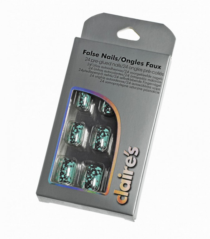 Faux ongles, Claire's 7,99€