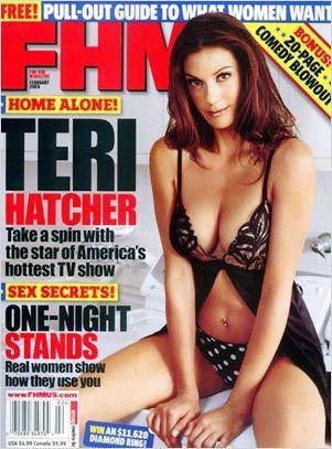Teri Hatcher en 2005 retouchée