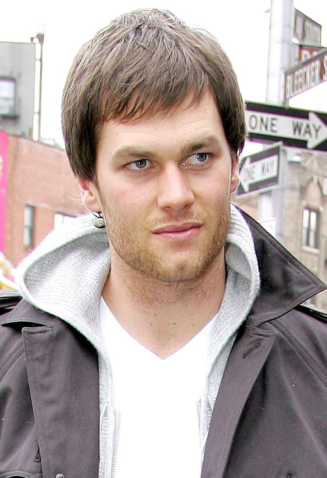 Les cheveux courts de Tom Brady !