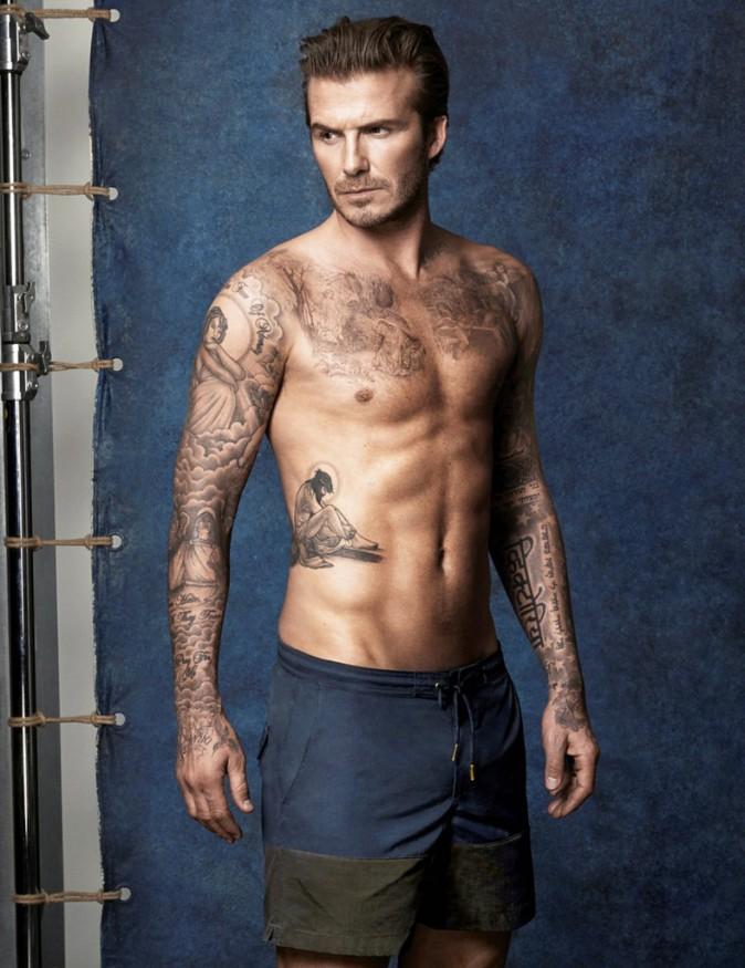 David Beckham : Le sportif mannequin à ses heures perdues !
