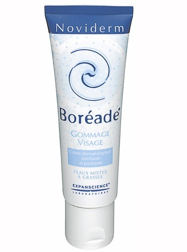 Gommage visage Boréade, Noviderm, 9,50€