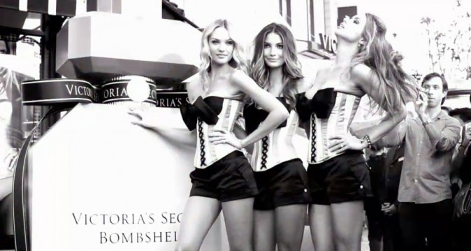 Les Anges de Victoria's Secret pour la promotion de The Bombshell in Love