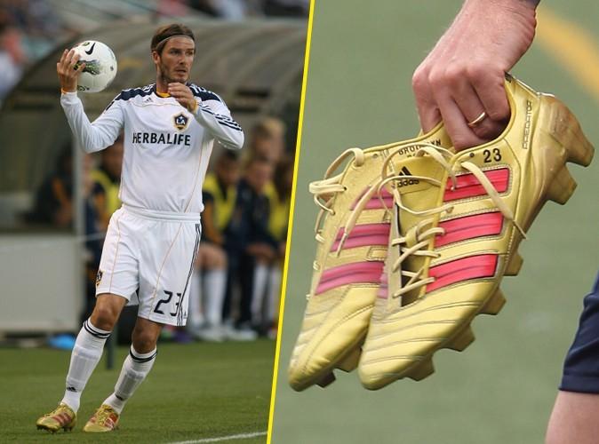 Beckham toujours avec ses enfants grâce à ses chaussures !