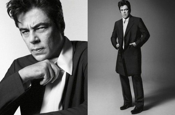 Benicio Del Toro pour Prada