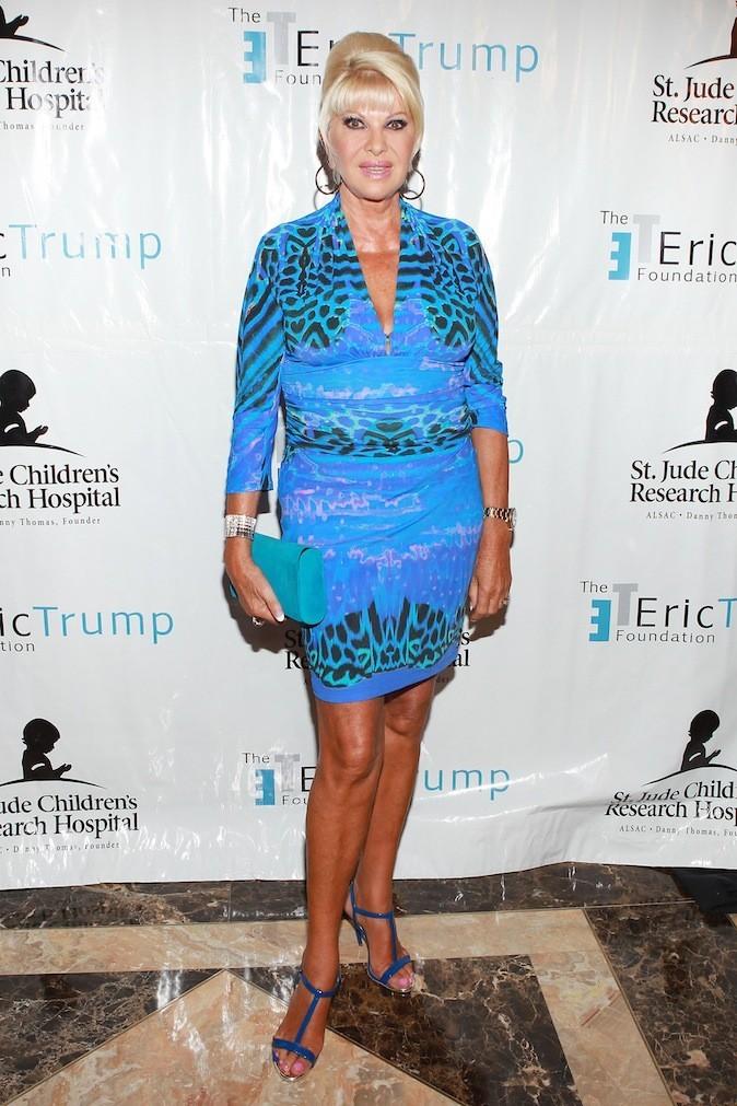 Ivana Trump, une robe de bimbo pour la cougar !
