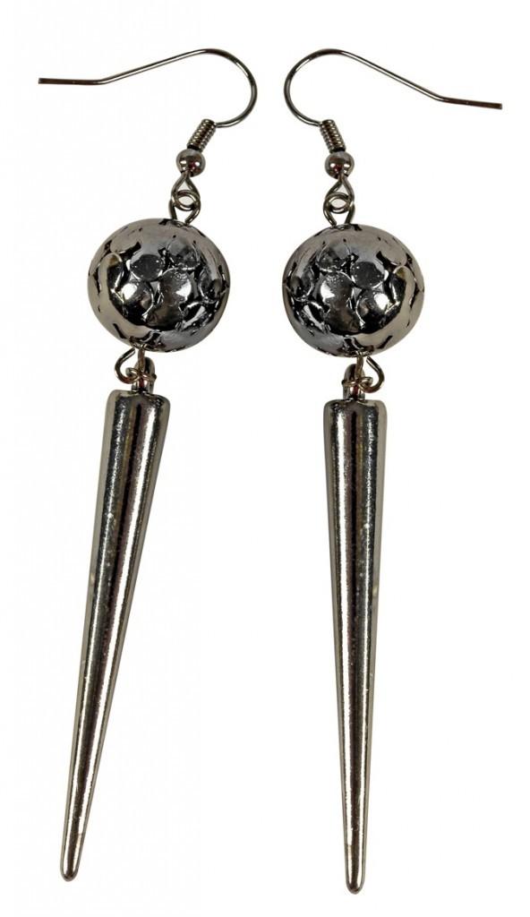 Boucles d'oreilles en métal, Claire's, 8€