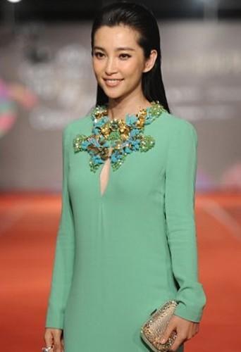 Bingbing Li sans artifice pour les Golden Horse Awards.