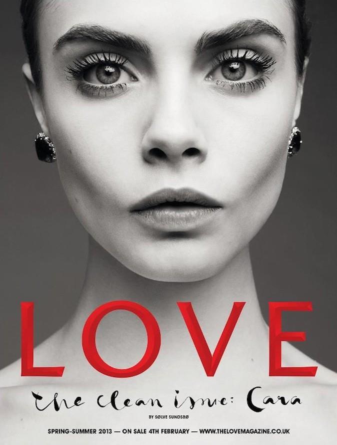 Cara Delevingne pour Love