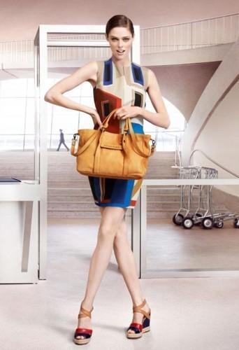 Coco Rocha pour Longchamp