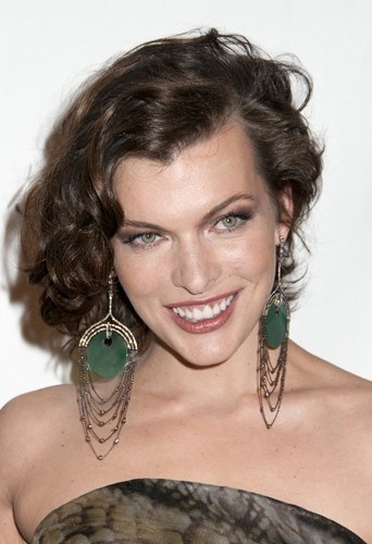 Milla Jovovich version rétro