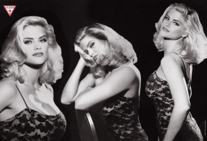Anna Nicole Smith pour GUESS