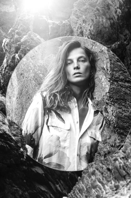 Daria Werbowy : mystèrieuse et captivante pour la campagne Equipment !