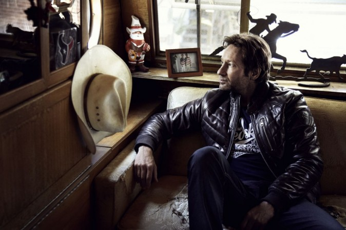 David Duchovny pour Red Skins Automne/ Hiver 2012-2013