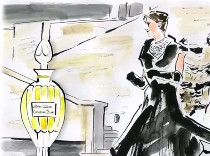 La flacon amphore était le premier flacon de Miss Dior.