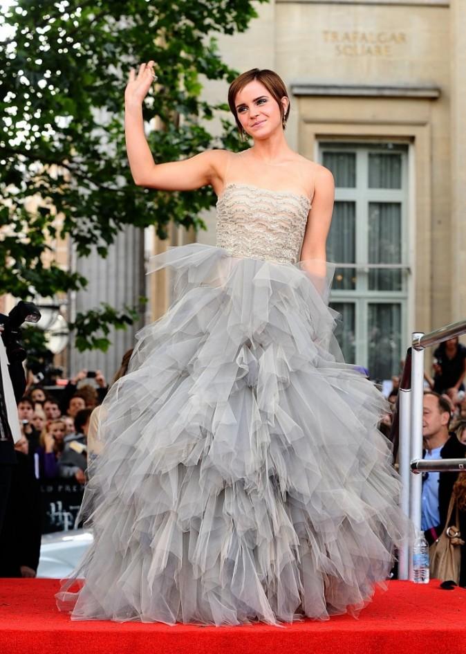 Emma Watson en Oscar De La Renta