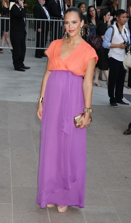 Jessica Alba en Diane Von Furstenberg lors des CFDA Fashion Awards