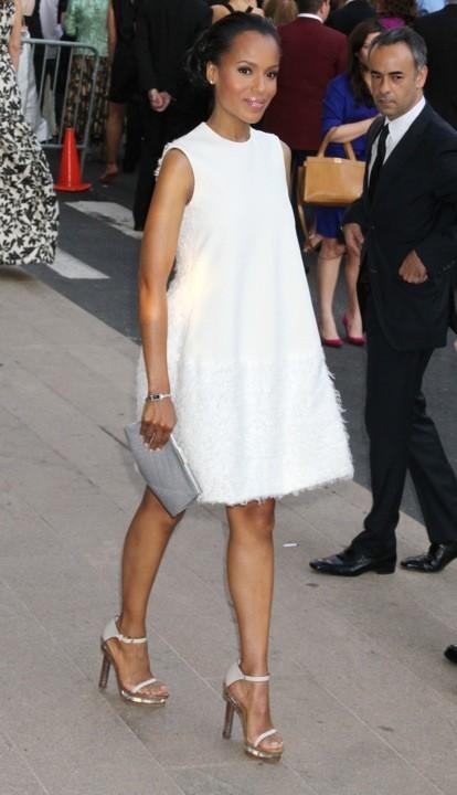Kerri Washington en Calvin Klein lors des CFDA Fashion Awards