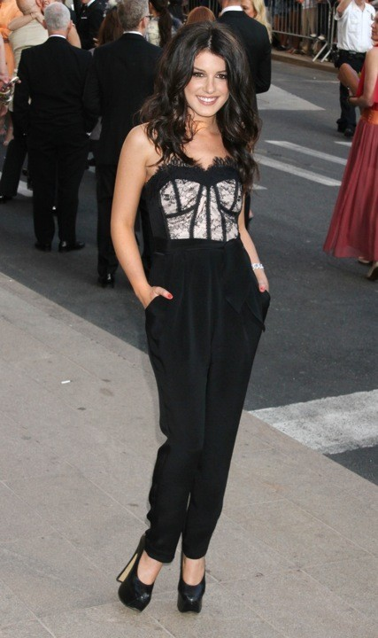 Shenae Grimes lors des CFDA Fashion Awards