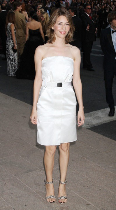 Sofia Coppola en Calvin Klein lors des CFDA Fashion Awards