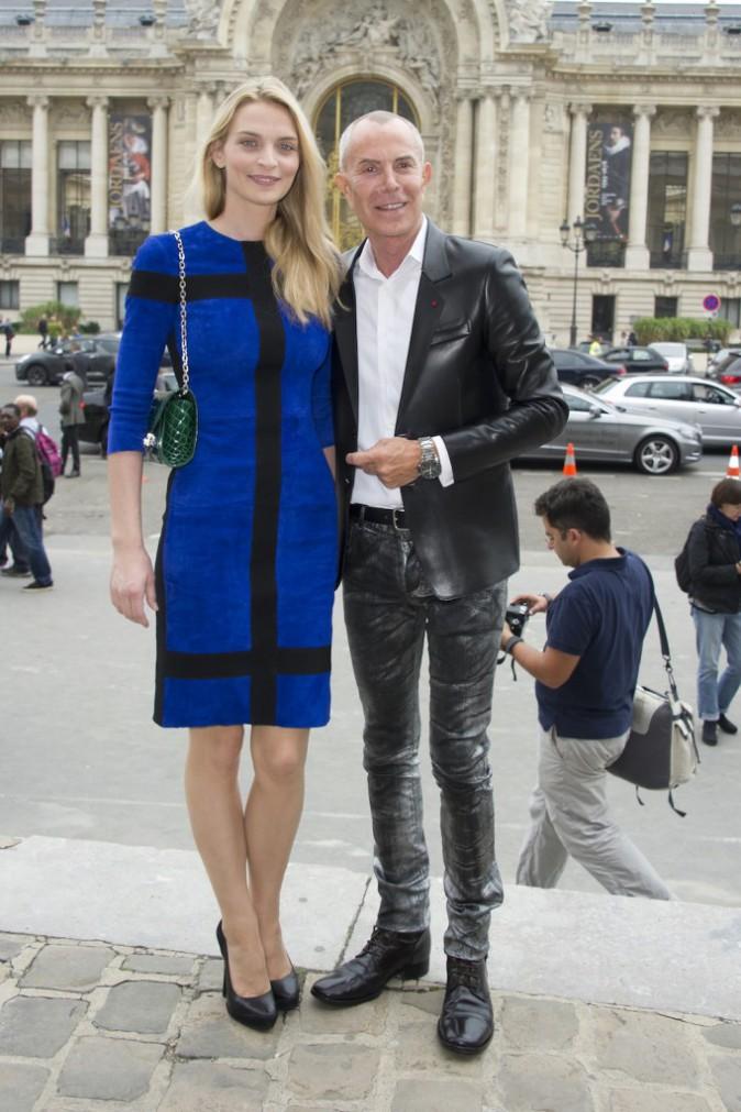 Sarah Marshall et Jean-Claude Jitrois