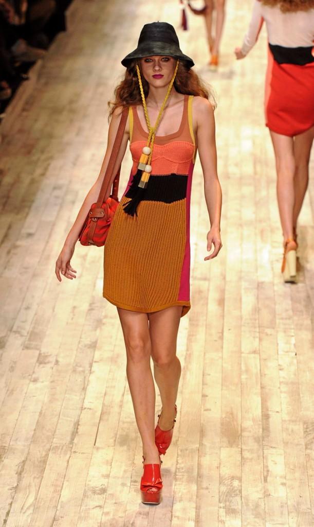 Les sandales compensées Sonia Rykiel du défilé printemps-été 2011 !
