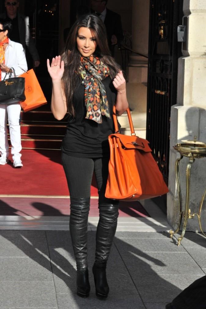2010: Kim quitte le Ritz de Paris !