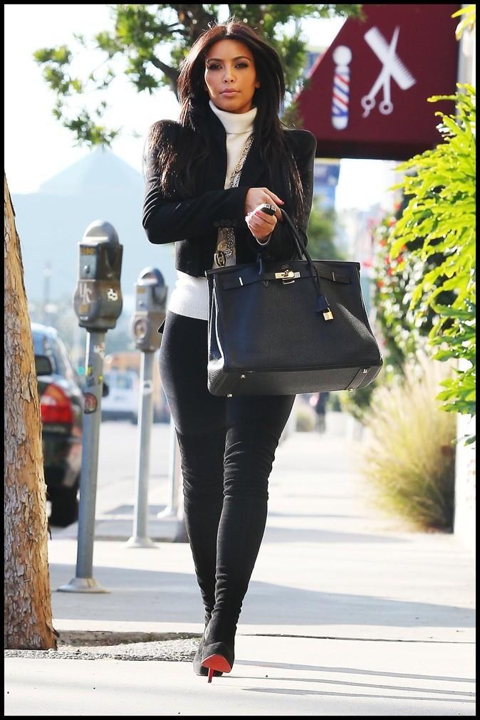 2011: Kim en route pour le teinturier !